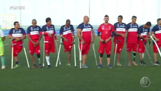 Invicta, Sadef-RN comemora título da Copa NE de Futebol de Amputados