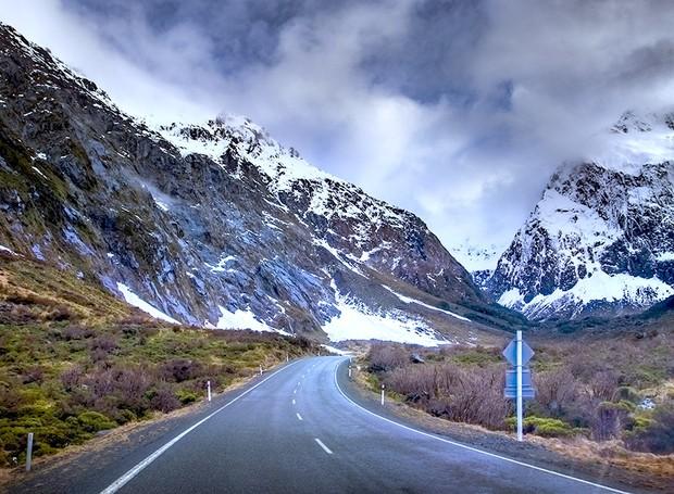 Milford Road, na Nova Zelândia (Foto: Thinkstock)