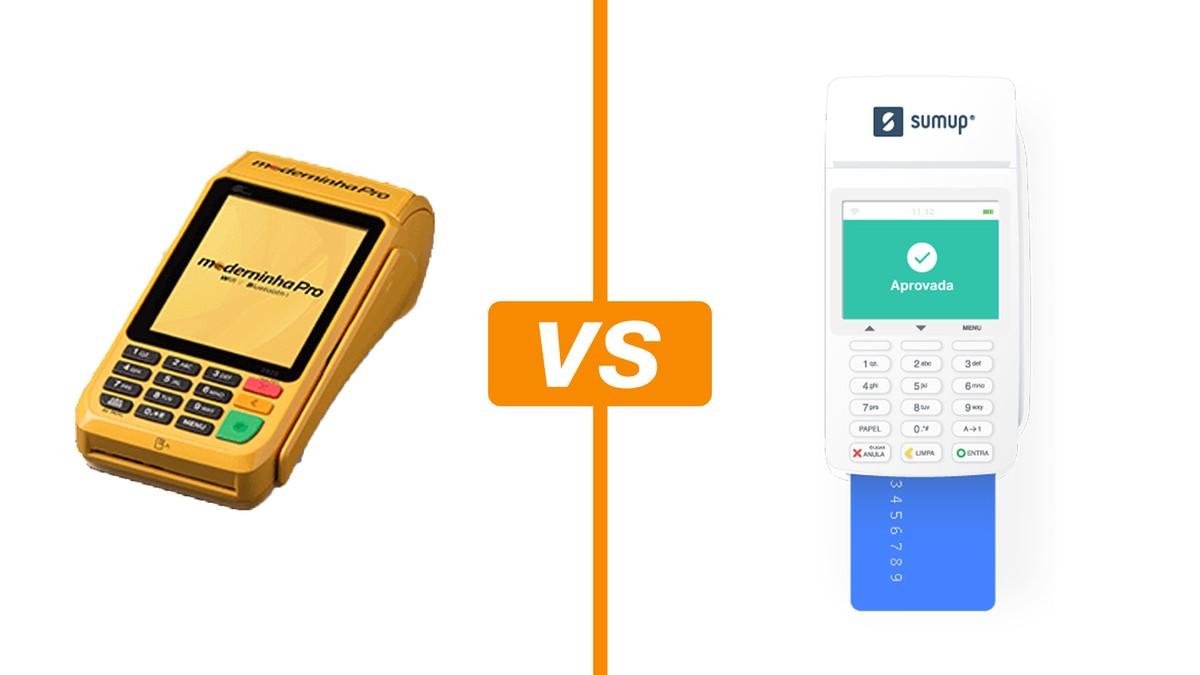 b16021d95 Moderninha Pro vs SumUp Total: compare taxas e bandeiras das maquininhas | Máquinas  de cartão | TechTudo