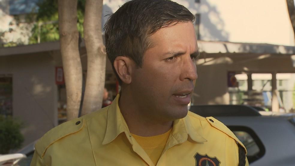 O assessor de comunicação do Detran-DF Glauber Peixoto — Foto: TV Globo/Reprodução