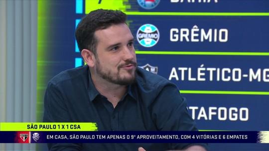 Troca analisa posicionamento de Dani Alves e tropeço do São Paulo: ''Está em eterna reconstrução''