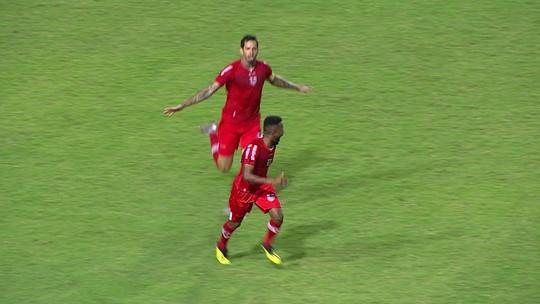 Willie mostra impulsão e oportunismo no ataque do CRB: tem dois gols parecidos