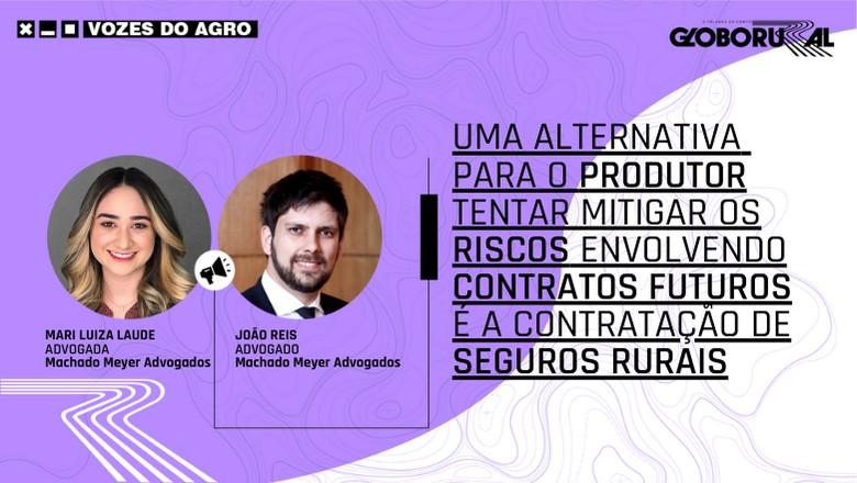 Vozes do Agro - Advogados Contratos Futuros (Foto: Estúdio de Criação)