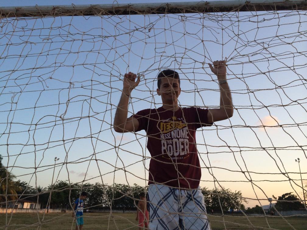 Hoje com 30 anos, Léo Papel não atua mais profissionalmente (Foto: Leonardo Erys/GloboEsporte.com)