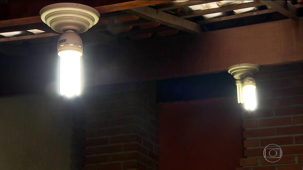 -  Aumento na tarifa da energia elétrica também foi responsável por alta no IPC  Foto: REDE GLOBO