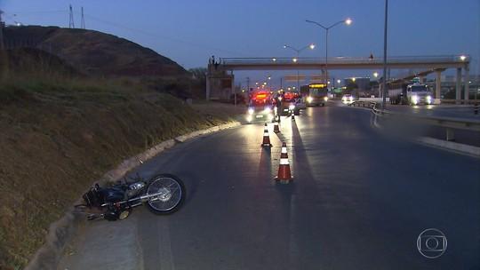 Motociclista morre em acidente na MG-010, na Grande BH