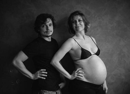 Christiana Ubach com o marido, Rafael Lozano (Foto: Caio Oviedo/Reprodução Instagram)