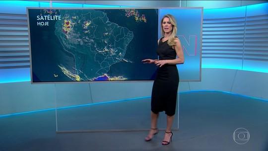 Veja a previsão do tempo para este domingo (13) no Brasil