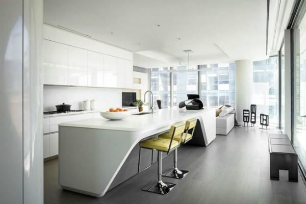 Apartamento de Ariana Grande e Pete Davidson em Nova York (Foto: Divulgação Imobiliária)