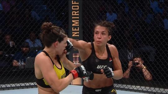 Mackenzie Dern revela lições da primeira derrota no MMA e quer lutar em evento no Brasil