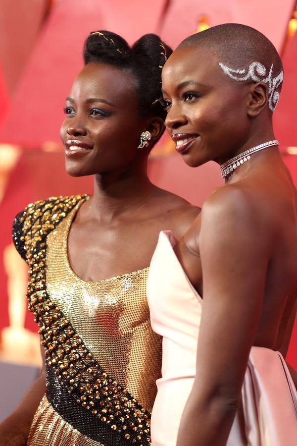 Lupita e Danai (Foto: Getty Images)
