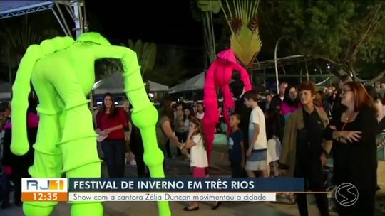Três Rios sedia Festival de Inverno