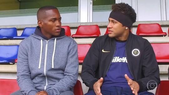 Neymar relembra começo da amizade com jogadores do Barcelona: 'Eu tinha vergonha de falar com eles'