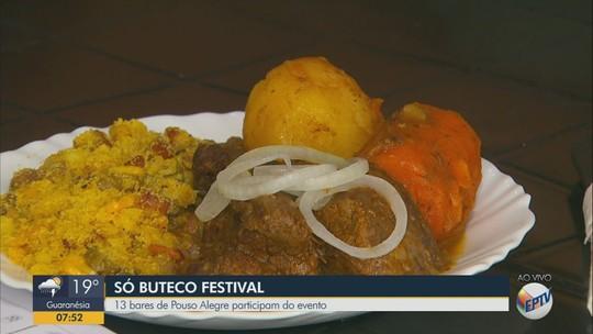 Festival reúne 13 bares com comidas tradicionais em Pouso Alegre, MG
