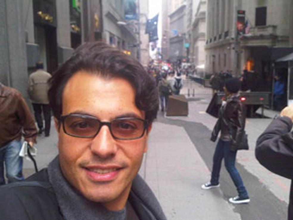 Otávio Fakhoury, em imagem de 2016 — Foto: Arquivo pessoal
