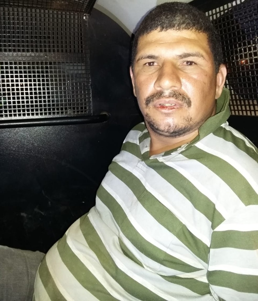 O vigilante, identificado como Luiz Fernando Nunes de Souza, de 31 anos, foi preso em flagrante (Foto: DHPP/Rondonópolis)