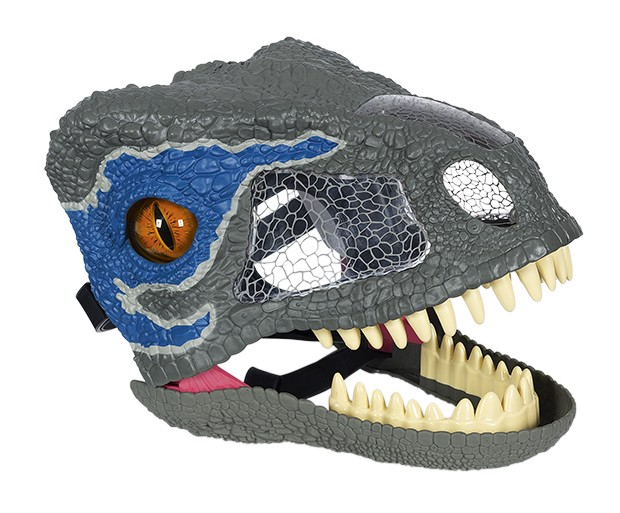 Jurassic World - Máscara Eletrônica Raptor    (Foto: Bruno Marçal / Editora Globo)