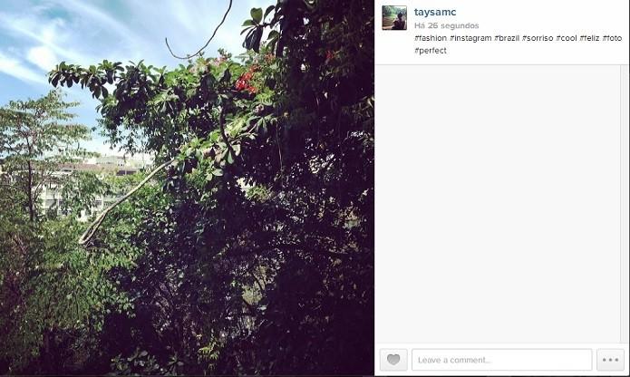 Evite usar hashtags que não têm a ver com a foto (Reprodução/Instagram)