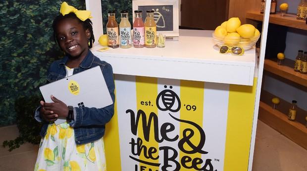 Mikhaila Ulmer começou vendendo limonada em barraquinha (Foto: Divulgação)