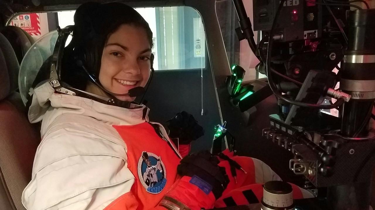 Aos 17 anos, jovem já treina para possivelmente participar de missão tripulada para Marte (Foto: Arquivo pessoal)