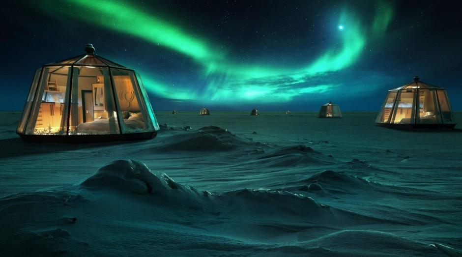 Os iglus serão instalados em abril de 2020 (Foto: Divulgação)