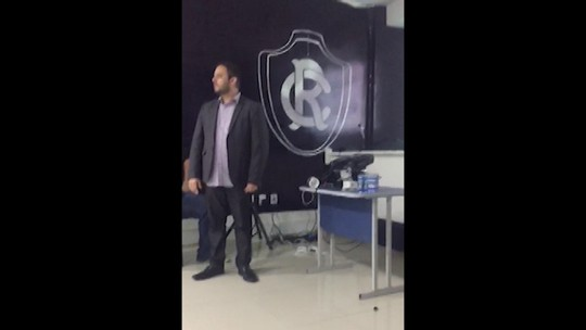 Motivação e autoestima: jogadores do Remo recebem palestra de coaching