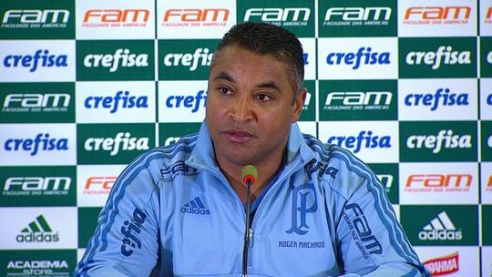 """Roger elogia atuação do Palmeiras e confirma Weverton como novo goleiro titular: """"Provou que está pronto"""""""