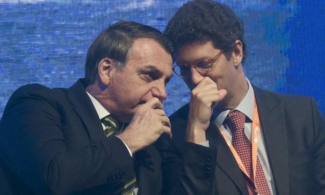 O ministro do Meio Ambiente, Ricardo Salles, que pede US$ 1 bilhão para financiar o combate ao desmatamento na Amazônia
