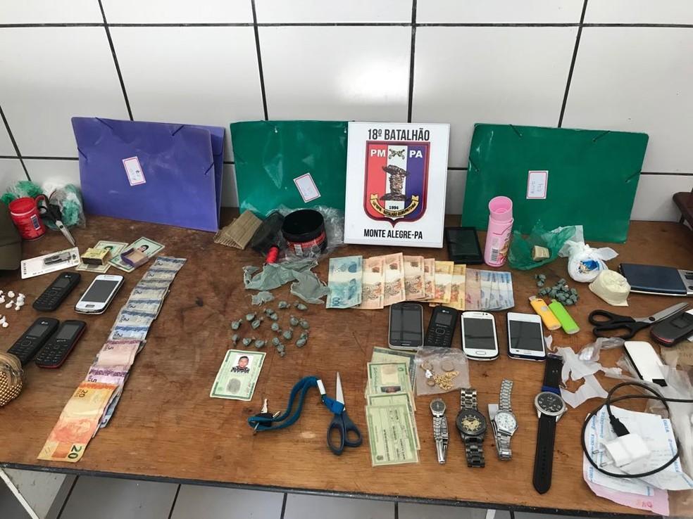 Operação prendeu oito pessoas em Monte Alegre, no oeste do Pará. (Foto: Polícia Civil/Divulgação)