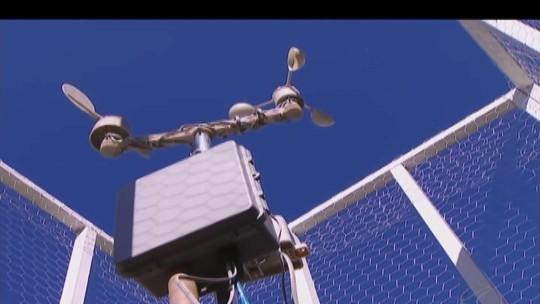 Aparelho de medição meteorológica instalado em Uberlândia pode contribuir com prevenção no período chuvoso