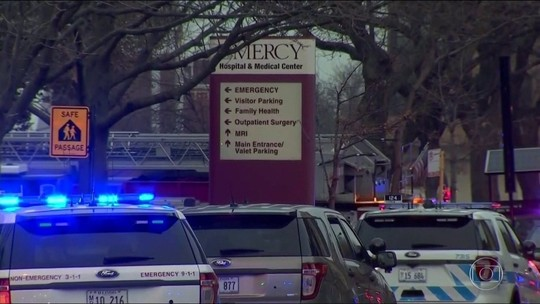 Tiroteio em hospital de Chicago termina com 4 mortos