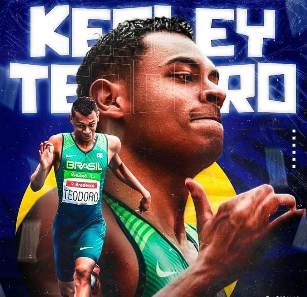 Kesley Teodoro — Foto: Redes Sociais/Reprodução
