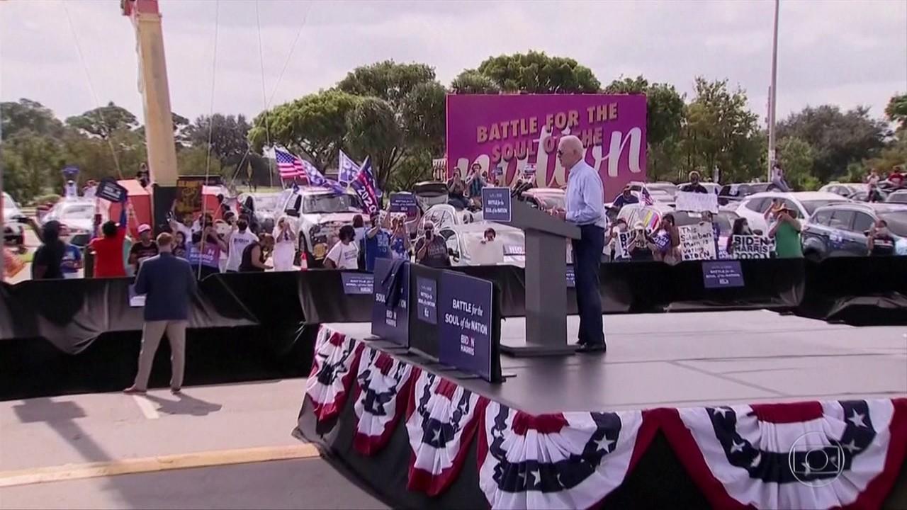 Candidatos à presidência dos EUA fazem campanha na Flórida