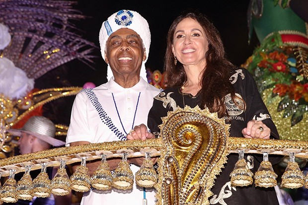 Gilberto e Flora Gil (Foto: Manuela Scarpa/Brazil News)