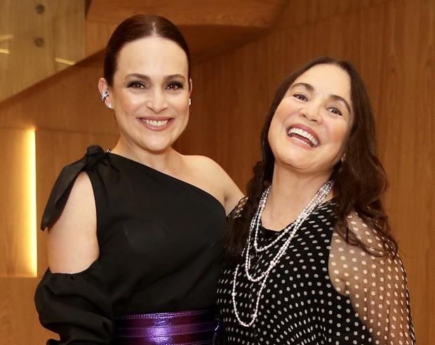Gabriela Duarte e Regina Duarte (Foto: Manuela Scarpa/Brazil News)