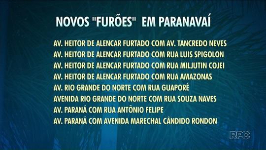 Prefeitura instala mais oito radares em ruas e avenidas de Paranavaí
