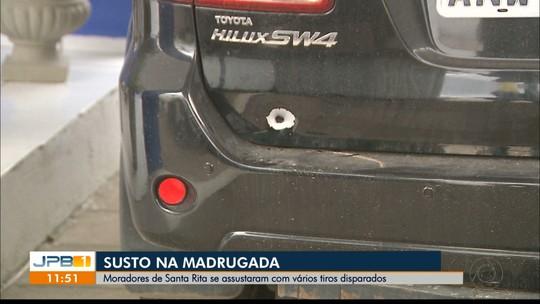 Moradores de Santa Rita se assustam com vários tiros disparados em uma rua do Tibiri