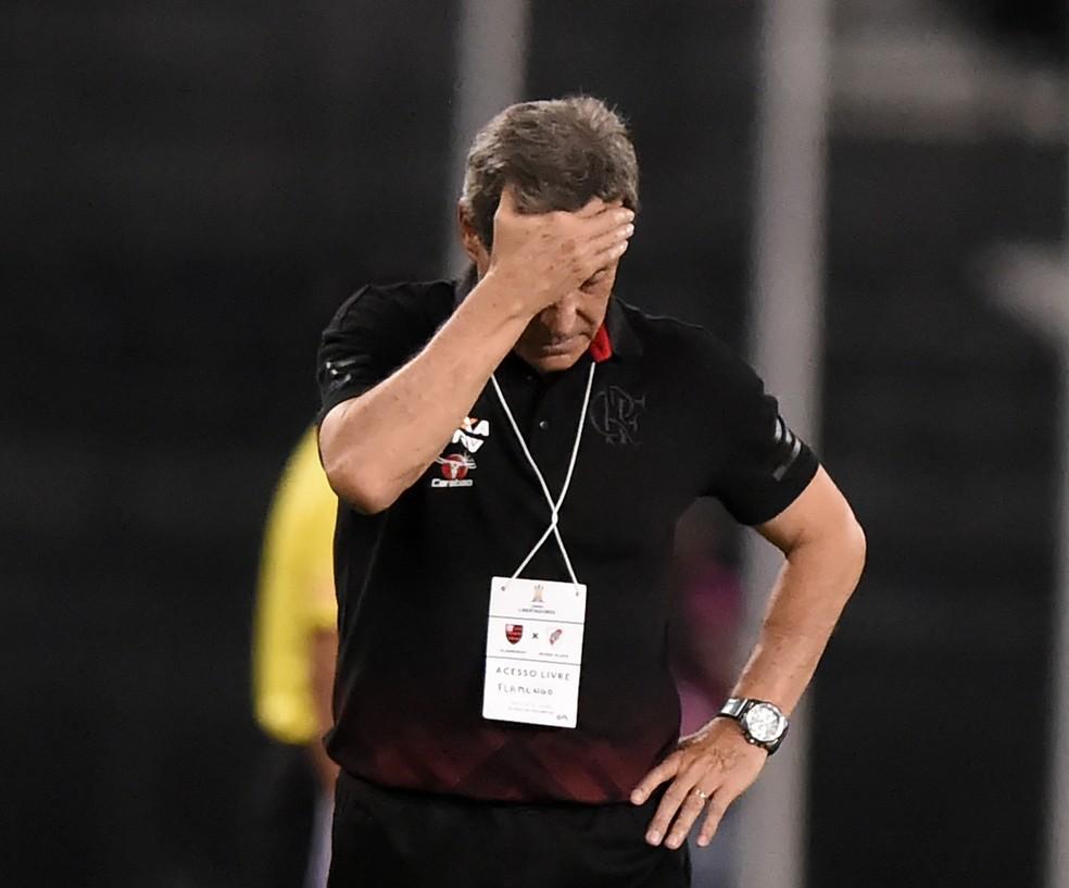 Carpegiani deixará o cargo do Flamengo depois de 17 jogos (Foto: André Durão)