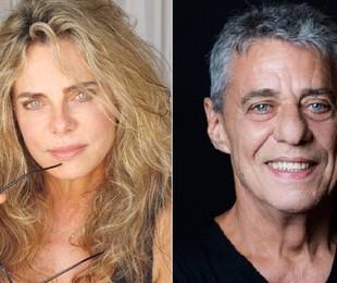 Bruna Lombardi e Chico Buarque | Divulgação e Leo Aversa