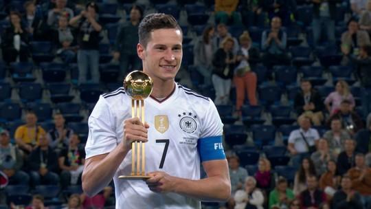 Draxler é eleito o melhor jogador da Copa das Confederações