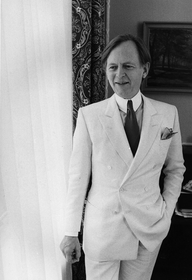Tom Wolfe em 1980 (Foto: Getty Images)