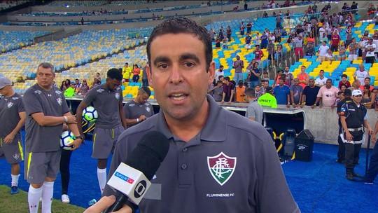 """Fábio Moreno após sobre a permanência do Flu na série A : """"Sensaçao de alívio"""""""
