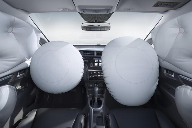 Honda Fit EXL airbags (Foto: Divulgação)