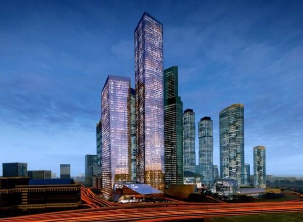Complexo OKO - Torre Sul (Foto: Fermax/Reprodução)