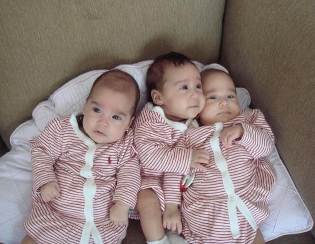 As três Marias de Julyana Mendes (Foto: Arquivo Pessoal)