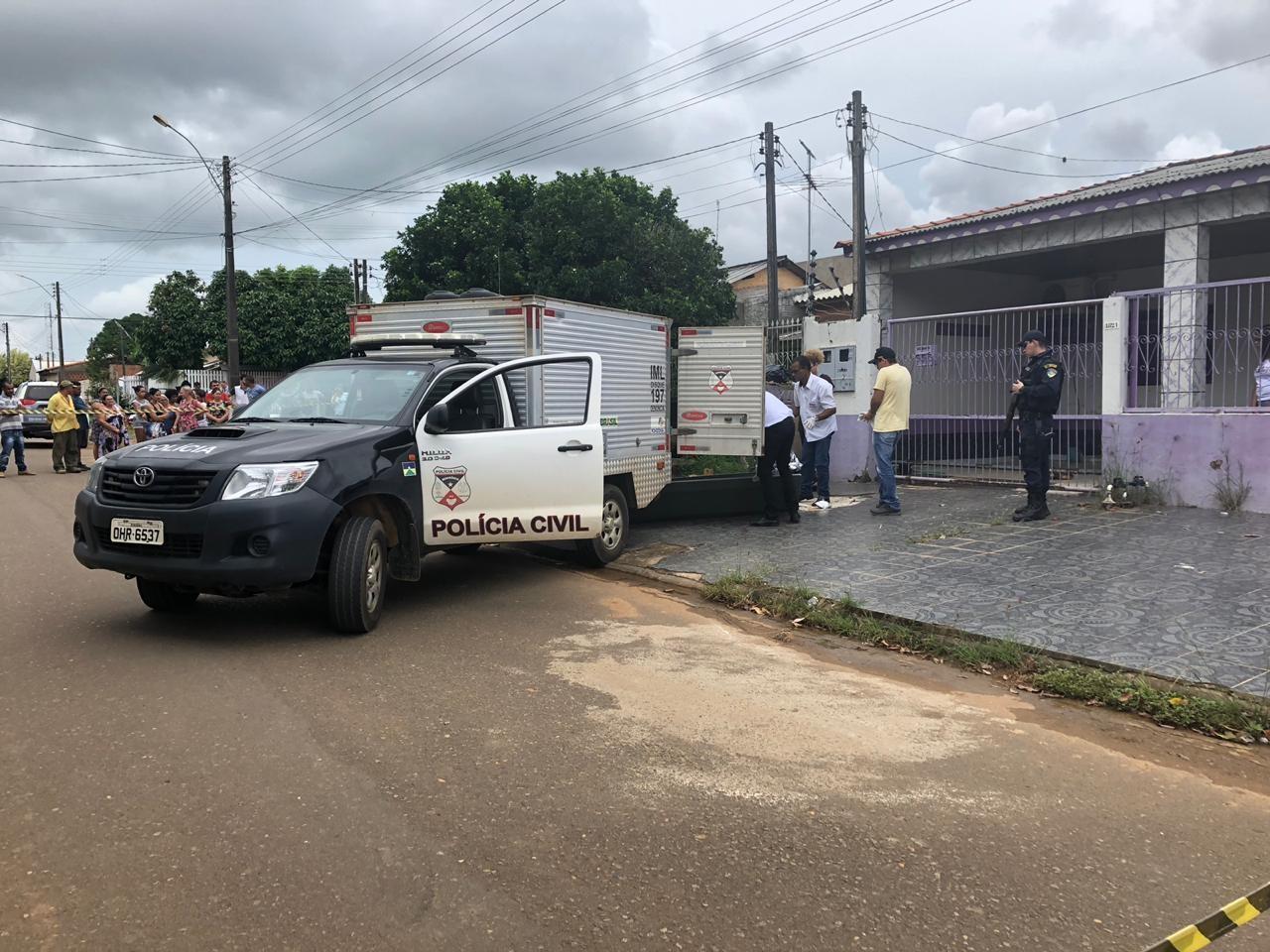 Autônomo é morto com 6 tiros a caminho de mercado em Ariquemes, RO