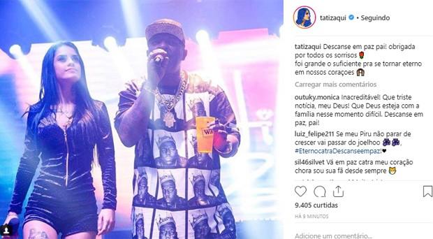 Famosos lamentam morte de Mr. Catra (Foto: Reprodução/Instagram)