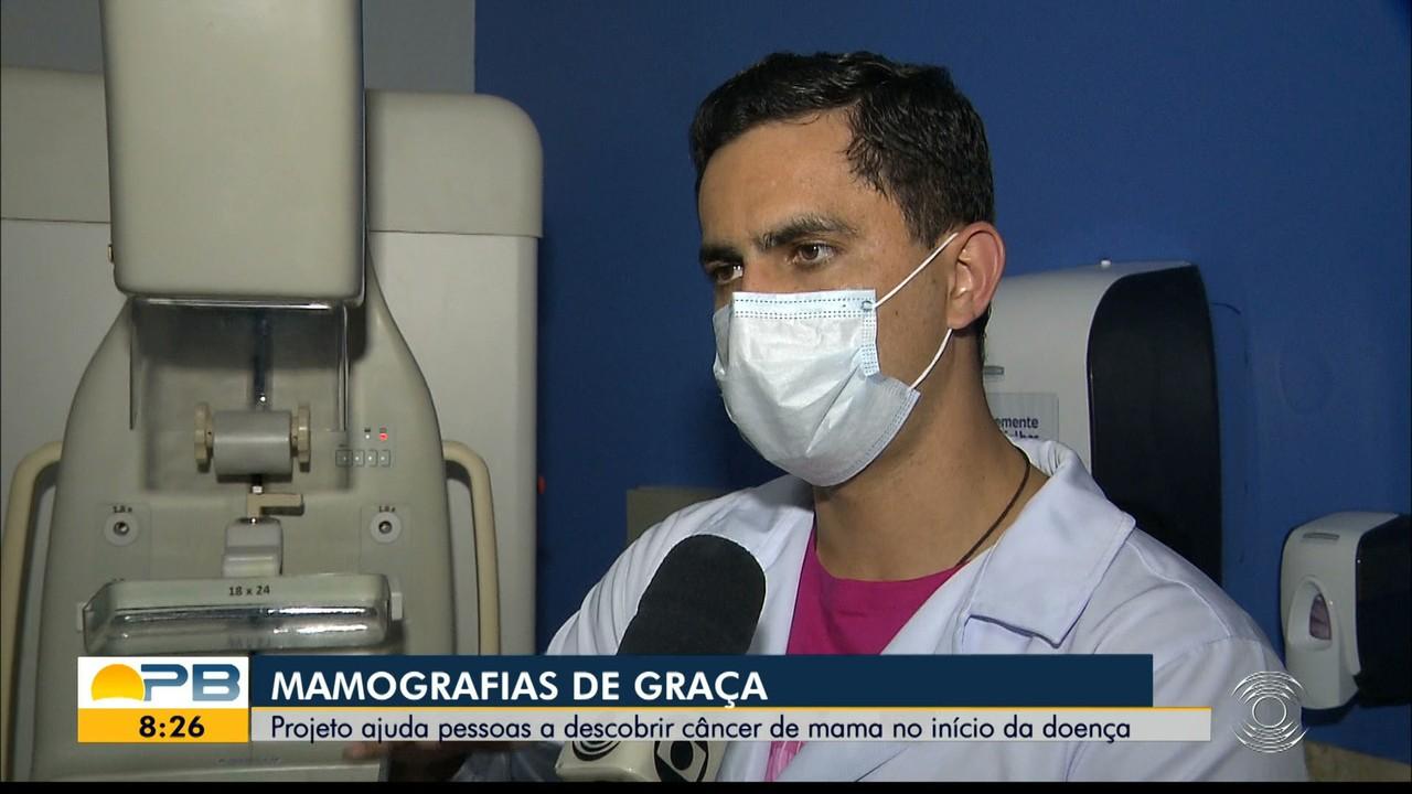 Projeto oferece mamografia gratuita e ajuda pessoas a descobrir câncer de mama