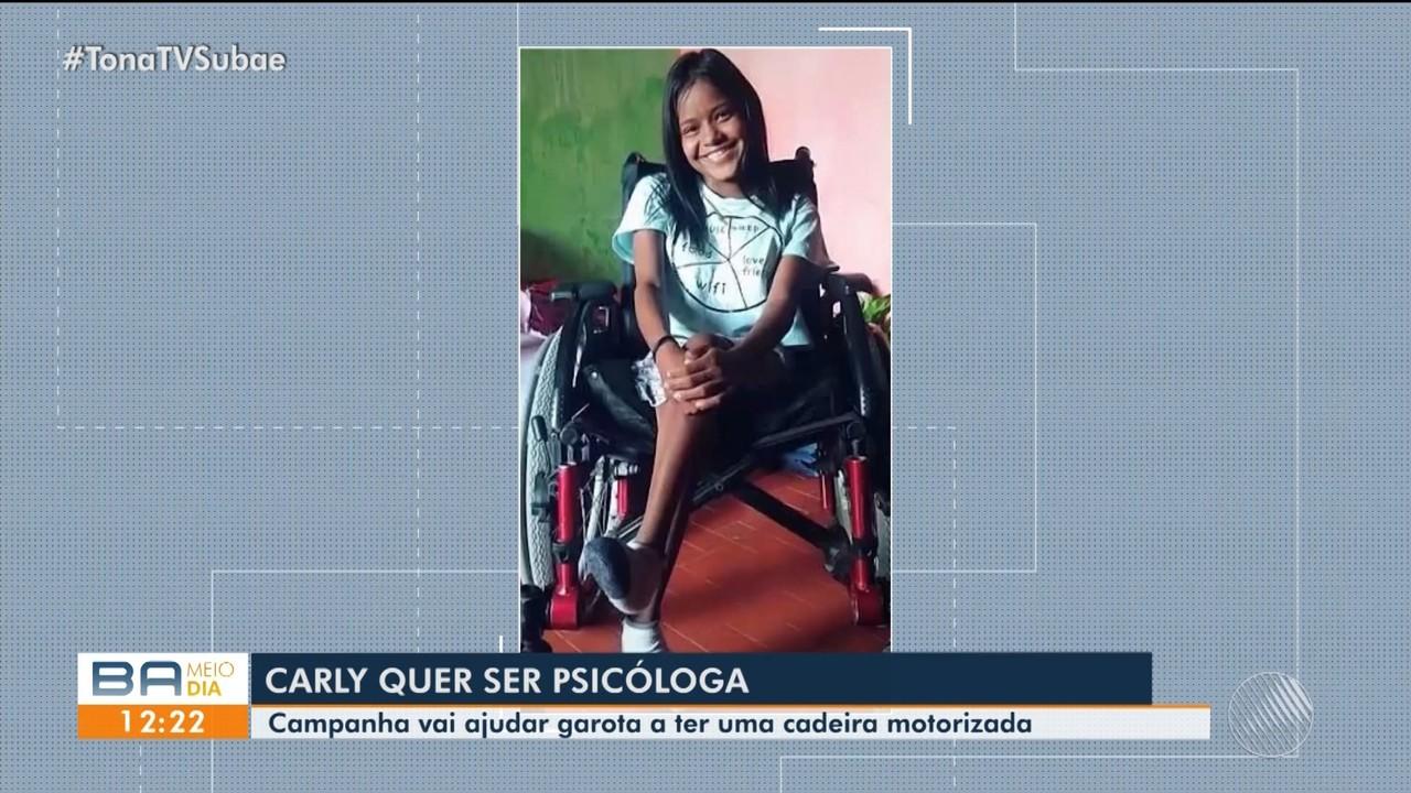 Amigos de jovem de 20 anos fazem vaquinha para comprar cadeira de rodas motorizada