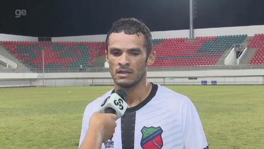 Autor de gol na estreia da Copa Verde destaca luta, mas lamenta falta de atenção em empate
